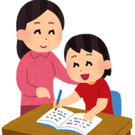 家庭教師の女性の先生