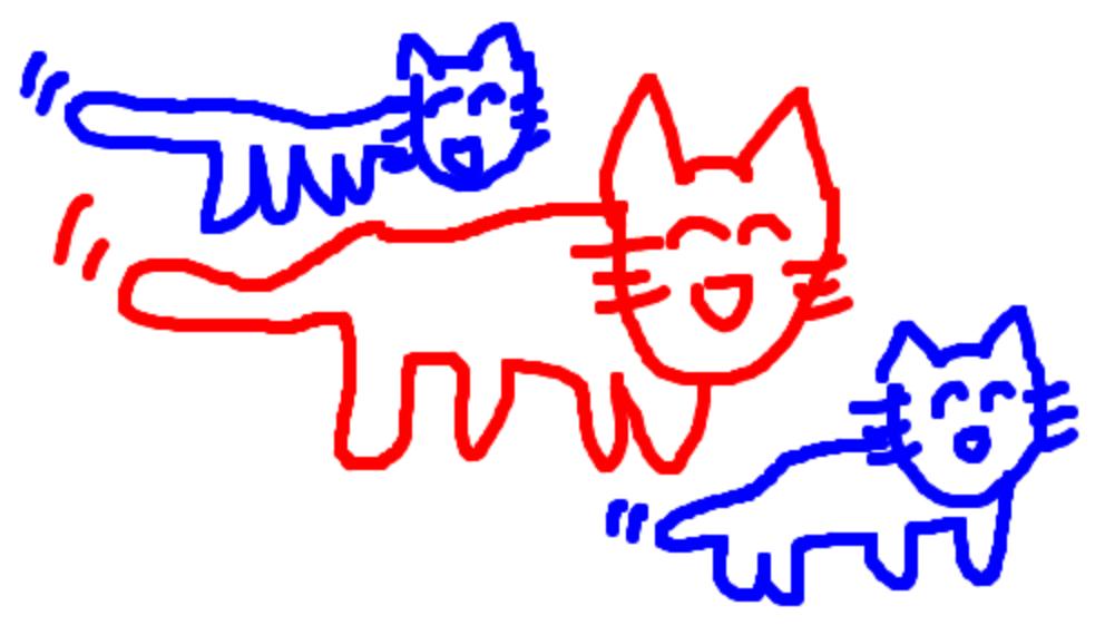 犬ら(右)