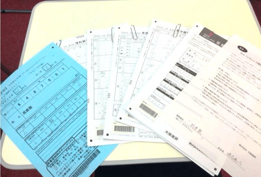 【レポート】10/2(日) 第一回模擬試験が終了しました。早速答案も返送です。