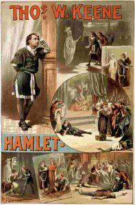ハムレットのポスター