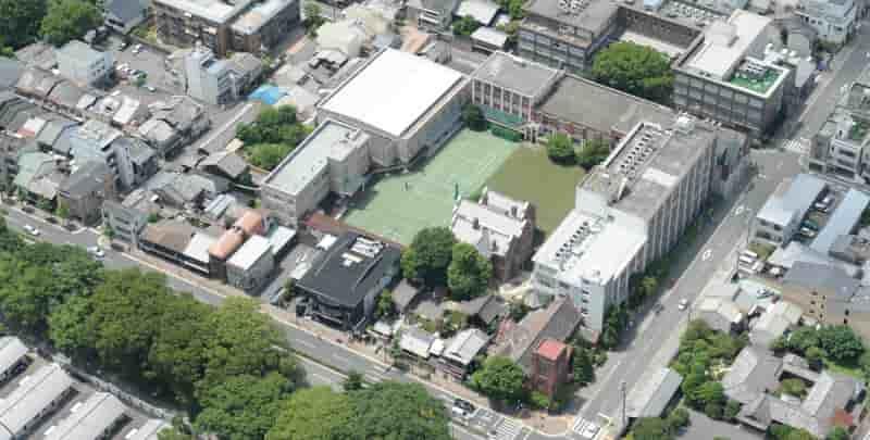 平安女学院高校キャンパス