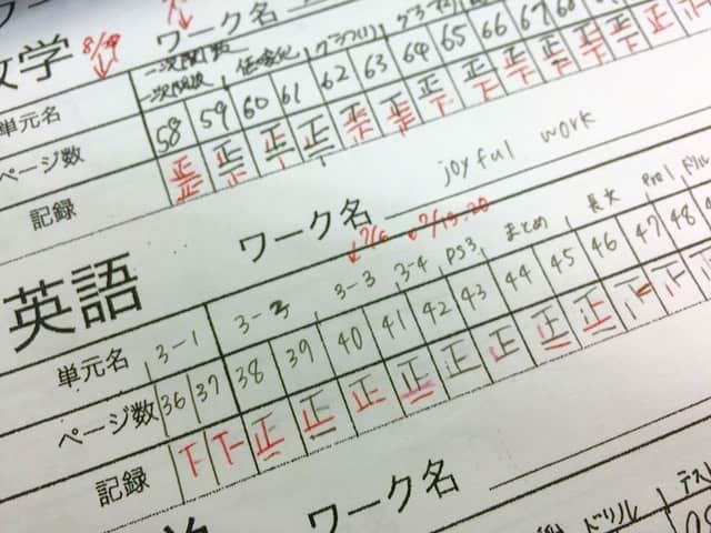 【写真で分かる】カンタンな問題集をひたすら繰り返して「5」を取れた生徒。高倉塾はこんな指導方針です。