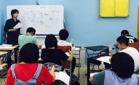 高校受験対策会は「基本の徹底」プラス「ちょろっと応用問題」が理想です。