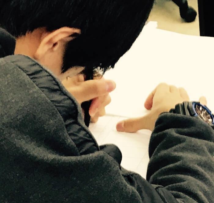 高倉塾の受験勉強